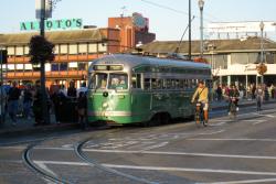street car in san francisco
