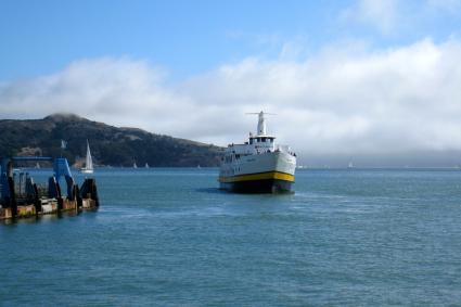 ship in sausalito