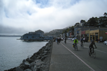a street in sausalito