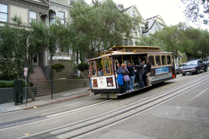 cable car down the hill