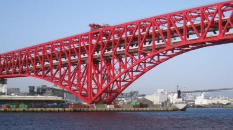 bridge near osaka port