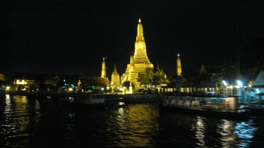 a temple near chaophraya